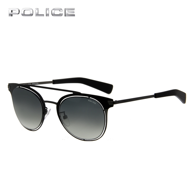 2383b9680d3d POLICE UV400 Aviator Round Metal Frame Sunglasses Women Men Brand Designer  Vintage Luxury Pilot Driver Sunglasses SPL158M