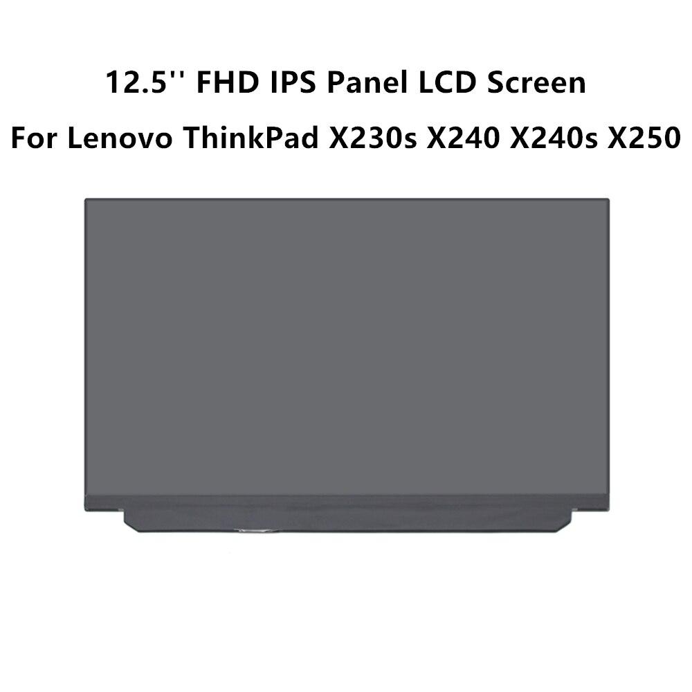 New LCD Screen for Lenovo ThinkPad X260 X270 X280 IPS FHD FHD 1920x1080 Matte