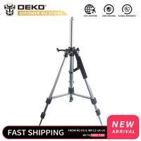 DEKO GJ62 1 120cm Aluminum Adjustable Tripod Laser Level Tripod Nivel Laser Tripod Professional Carbon Tripod for Laser Level