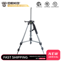 DEKO GJ62 1 120cm Aluminum Adjustable Tripod Laser Level Tripod Nivel Laser Tripod Professional Carbon Tripod for Laser Level