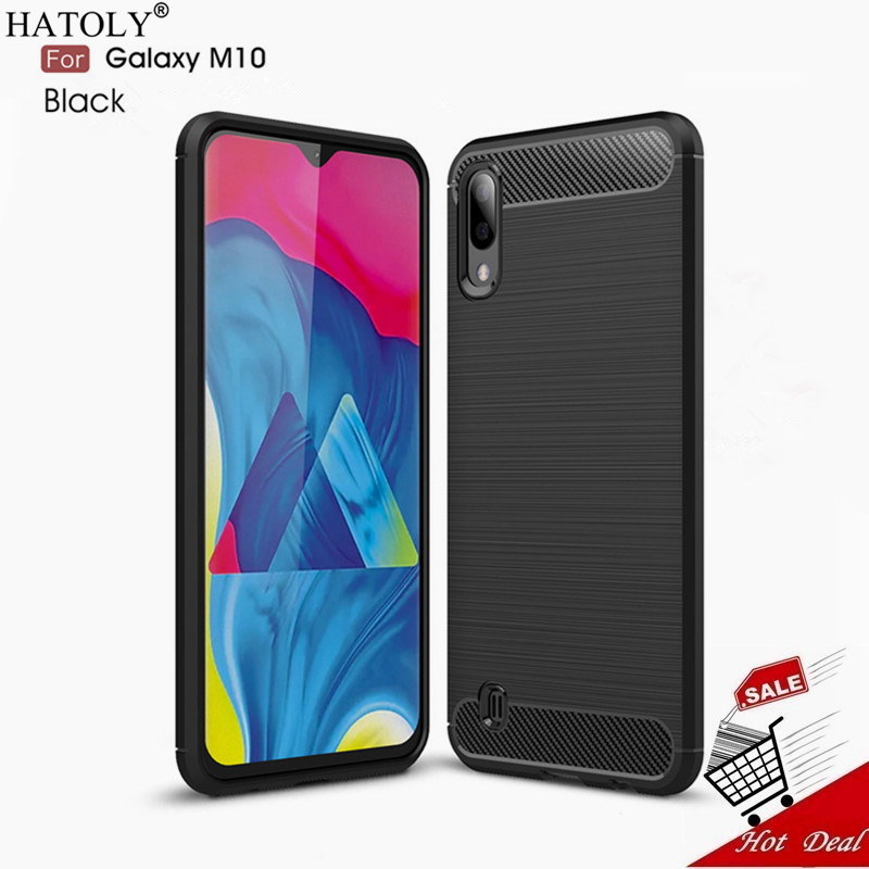 For Samsung Galaxy M10 Case Cover For Samsung Galaxy M10 Hard Silicone Phone Case For Samsung Galaxy M10 Back Case Funda Capa