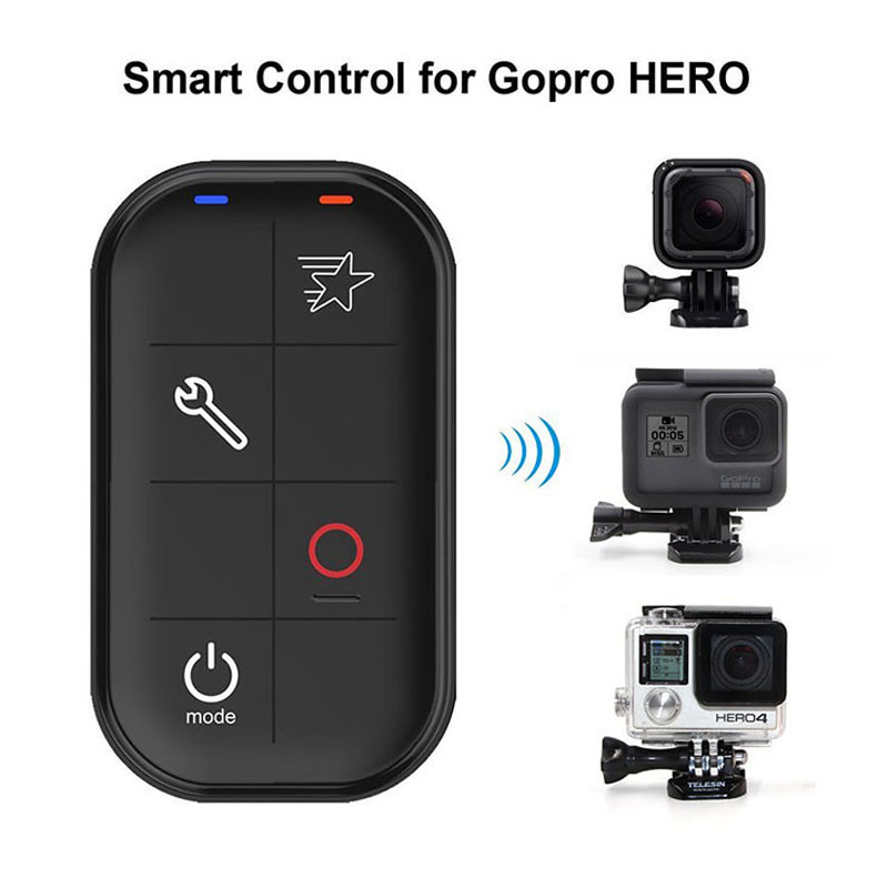 Smart WIFI Remote Control for GoPro Waterproof Smart Camera Controller For GoPro Hero 4/3+/3/ 4 Session Action Camera  #3 waterproof wireless wifi remote kit for gopro hero5 hero4 session hero 5 4 3 all gopro wifi edition camera accessories