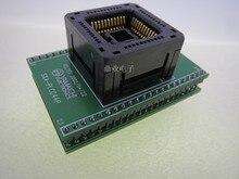 IC120 0444 306 PLCC44/DIP44 צריבה שקע זהב ציפוי מושב בדיקות IC מבחן Socket מבחן ספסל