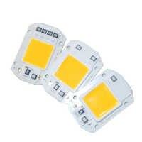 10 pièces LED matrice 20 W 30 W 50 W 220 V Diode tableau haute puissance Smart IC puce lumière pour projecteur extérieur matrice projecteur