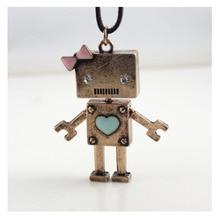 robot fan metal robotic Necklace geek