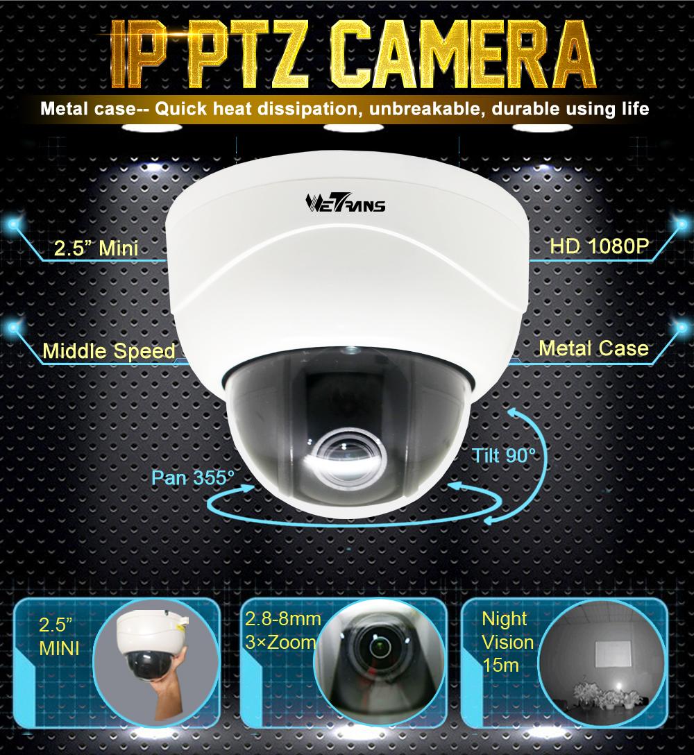 2,8-8mm Lev cámara IP 2