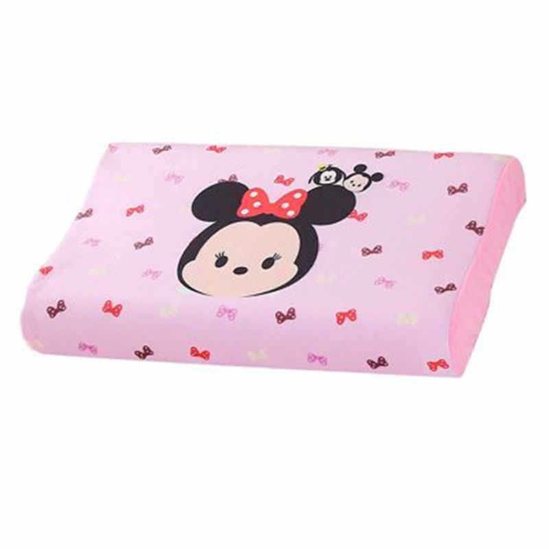 Disney Per Bambini cuscino in lattice Morbido Cuscino Per La Cervicale Salute e Bellezza di Gomma Piuma di Memoria Cuscino Ortopedico Cuscino In Lattice Cuscino Del Collo