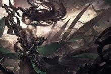 anime font b girls b font dark font b fantasy b font dragon squama 4 Sizes