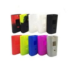 20PCS SMOK Alien Mod Cover Case Alien Kit Silicon Rubber Skin Electronic Cigarette Vape Accessories 10 colors for smok alien