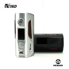 Original Hcigar VT75D DNA 75W Box Mod Dual 18650 battery 0.91″ Colorful TFT Screen DIY Design Theme Interface E Cig Mod
