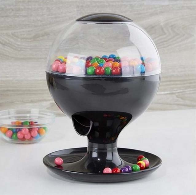 wedding candy dispenser automatic sensor plastic vintage gumball