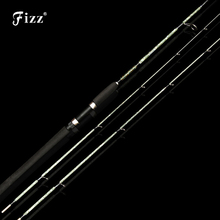 2 Tips Lure Fishing Rod Section Spinning Fly Glass Fiber Pole Tackle 6-30LB Line Weight 1.35/1.5/1.8/2.1M