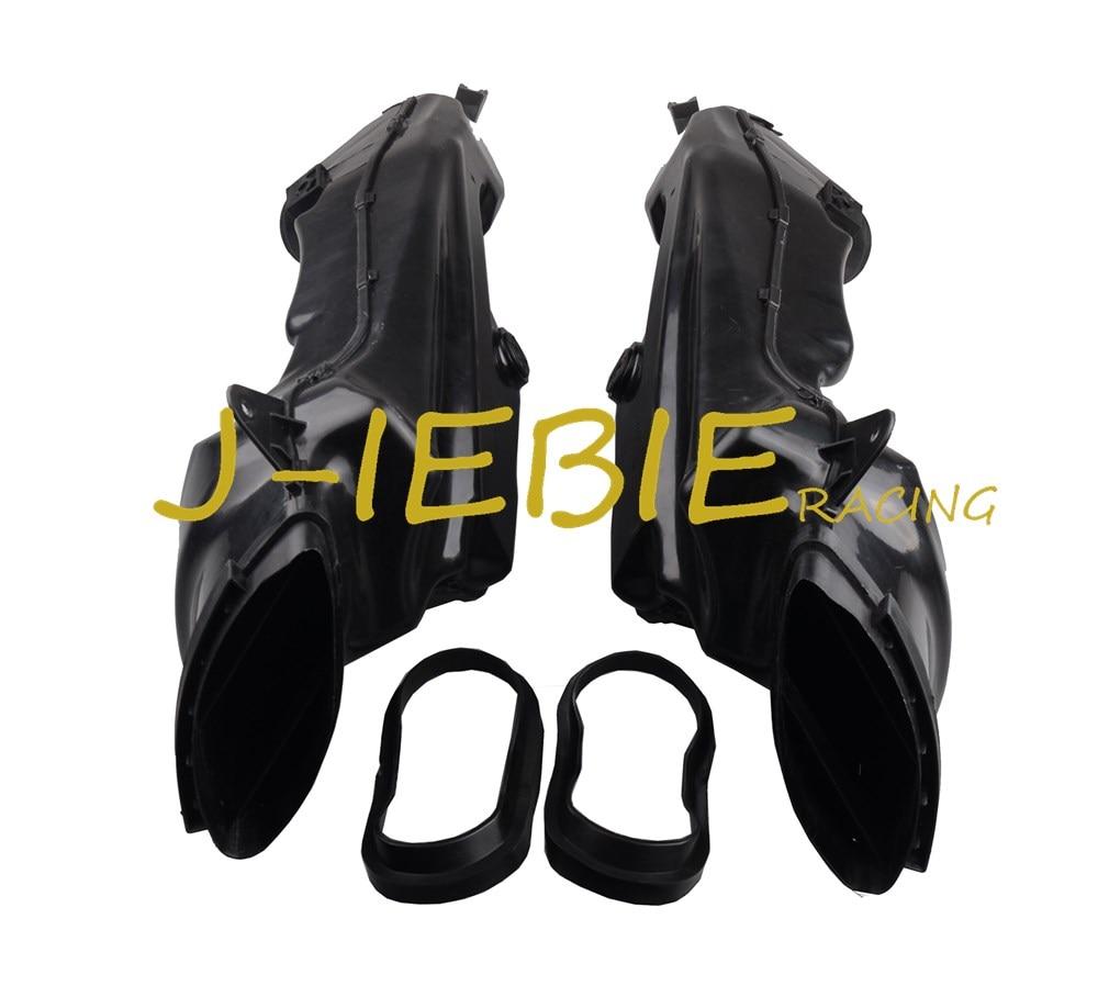 Ram Air Intake Tube Duct Black For Suzuki Suzuki GSXR 1000 GSXR1000 K9 2009 2010 2011 2012 2013 2014 2015 2016 for suzuki motocycle accessories ram air intake tube rubber fit for suzuki gsxr 600 750 2006 2007 2008 2009 2010 after market