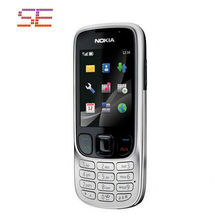 Nokia 6303 cell phones unlocked nokia 6303 mobile phones bluetooth mp3 player Free Shipping