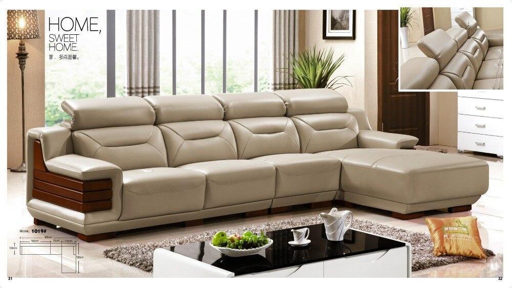 acquista all'ingrosso online minimalista divano design da ... - Pelle Dangolo Divano Minimalista