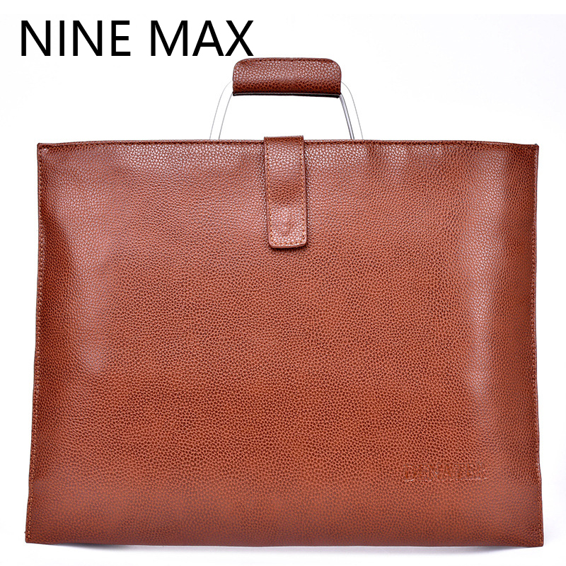 Men bag 100% genuine leather bag 2016 new famous brands high quality men messenger bags laptop bag vintage fashion dollar price