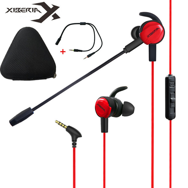 Xiberia Pc Gaming Headset In Ear Bass Earphones For Ps4 New Xbox One