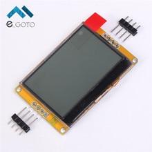 128*64 ЖК-дисплей Дисплей модуль Панель Экран Янтарное золото LED Подсветка 128×64 щит для Arduino C51 STM32 умная Электроника