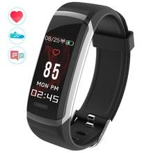 GT101 Bluetooth Sensible Wristband 0.96″ TFT Colour Display screen Coronary heart Fee Monitor Health Tracker Sleep Monitor Sensible Band