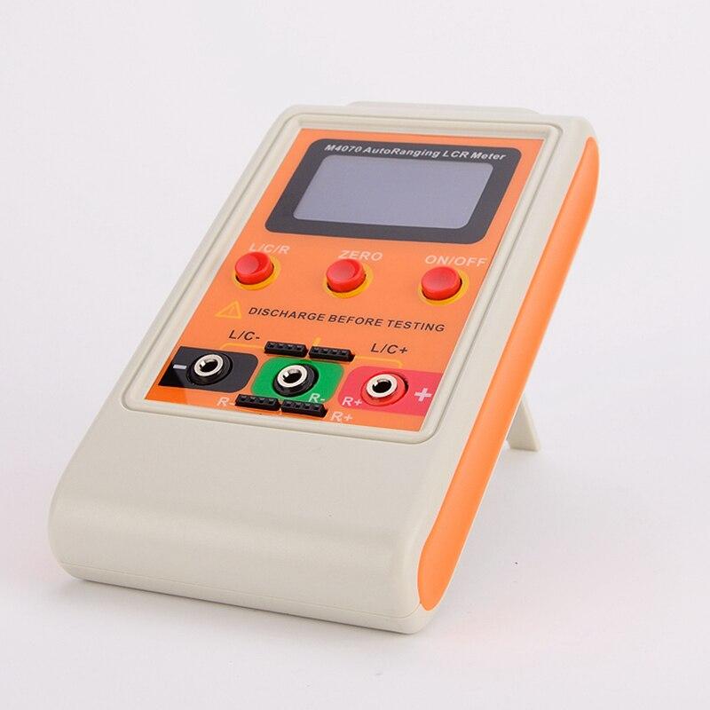 Portátil digital lcr medidor autorange componente capacitância