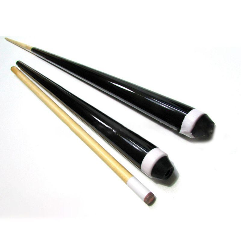2 Pcs 60 Cm/23.62in Hause Snooker Pool Queue Montieren 12mm/0.47in Spitze Kinder Erwachsene Billard Ausübung Unterhaltsam Werkzeuge Volumen Groß