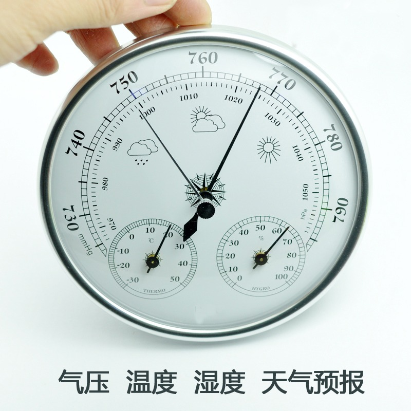 Wall mounted thermometer hygrometer high accuracy household indoor outdoor weather barometers Tool