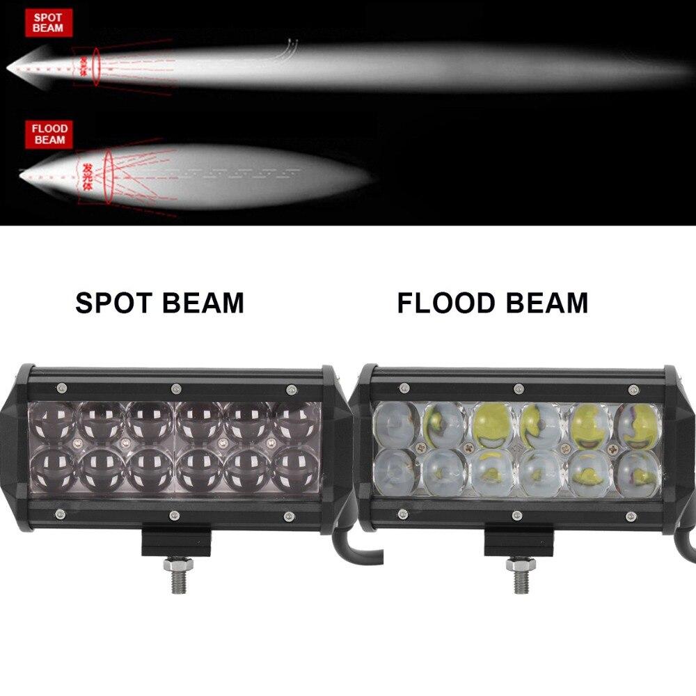 60W Offroad LED Arbetslampa 6,5 '' Bil ATV Trailer Camper - Bilbelysning - Foto 2