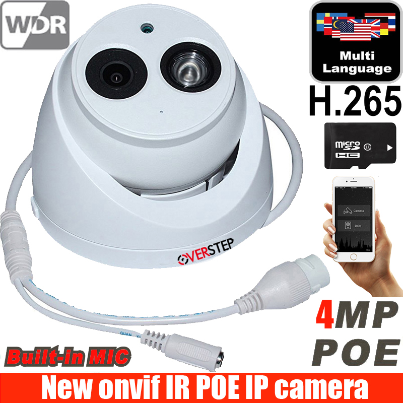 IPC-HDW4433C-A 4MP Starlight Camera Built-in MIC IR 50m network IP Camera Support POE replace IPC-HDW4431C-A cctv camera dahua 4mp ip camera ipc hdw4433c a replace ipc hdw4431c a poe ir30m h 265 built in mic cctv dome camera multiple language