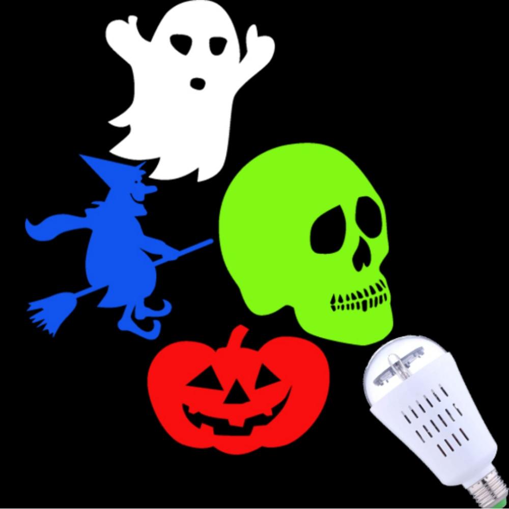 2018 New Arrival Indoor Halloween Led Light projektor, Soul-rörande - Festlig belysning - Foto 2