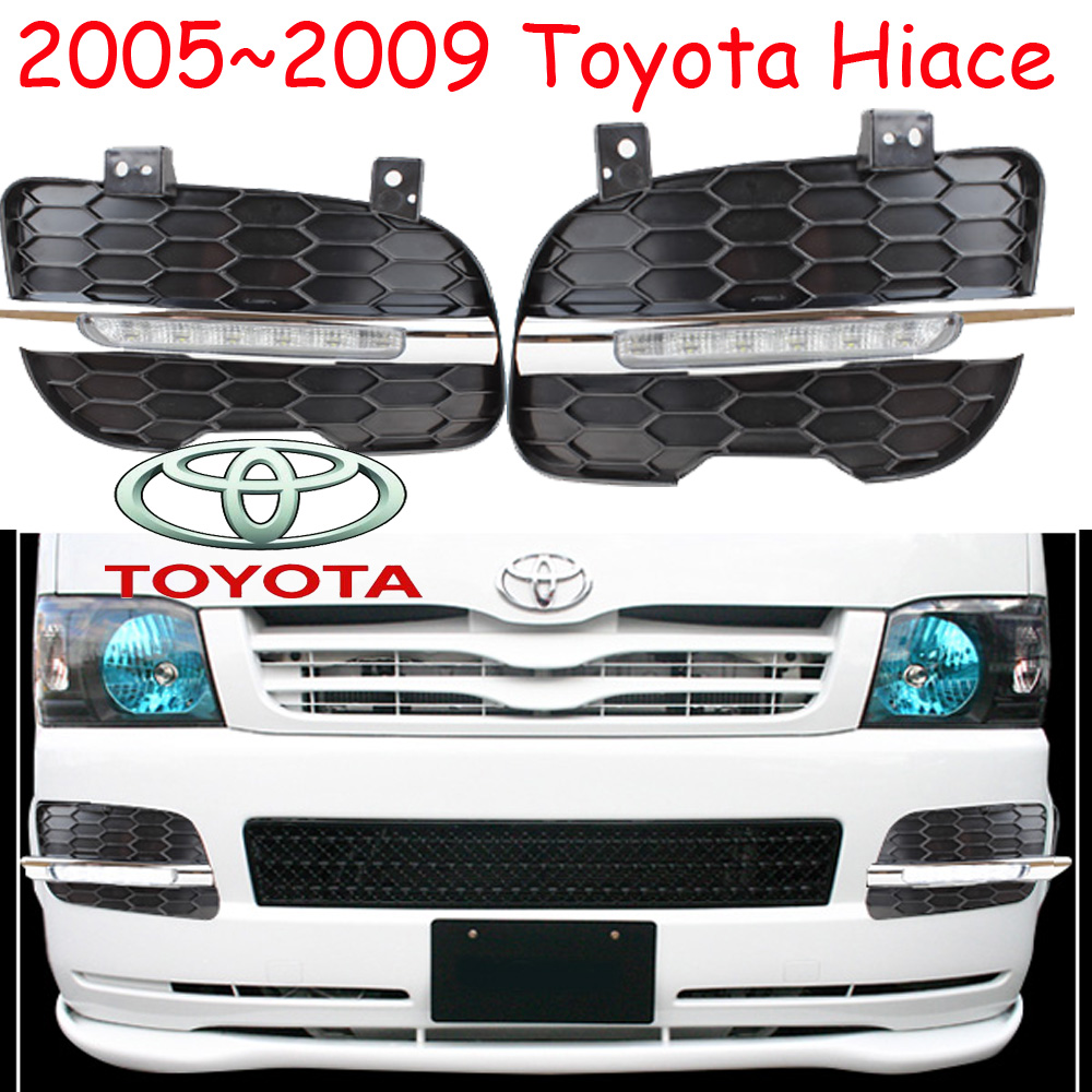 car-styling,2005~2009/2014~2016 Hiace daytime light,led,Free ship!2pcs/set,Hiace fog light;car-covers,Hiace headlight