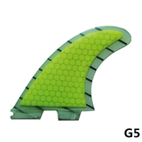 MOYLOR FCS2 FCSII G5 Surfboard Fin Honey Comb Fiberglass Tail Rudder Surf Fins for Surfing Tri Set High Quality F