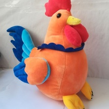 large 32x30cm lovely chick push toy soft doll throw pillow toy birthday gift w18