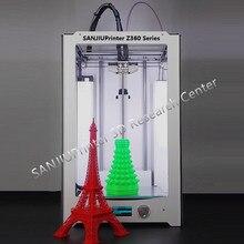 3D Printer 2016 Latest SANJIUPrinter Z360 Twin Extruders 3D Printer DIY KIT Extra Increased Than Ultimaker 2 Prolonged+ High High quality