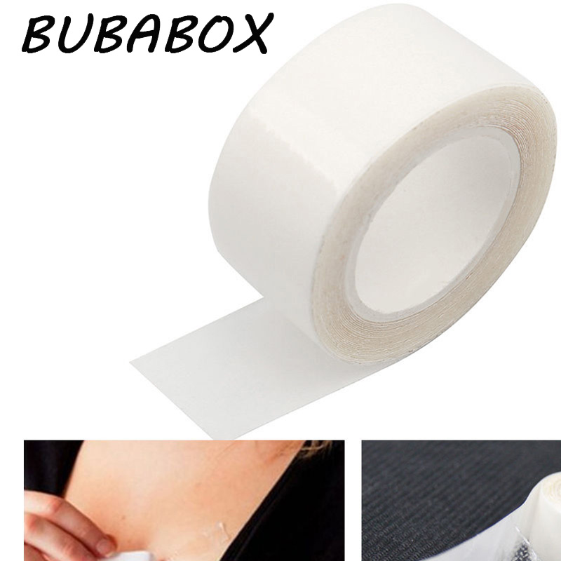 Popular Brand New 5 Meters Double Sided Adhesive Safe Body Tape Medical Waterproof Tapes Clothing Clear Lingerie Bra Strip Arts,crafts & Sewing