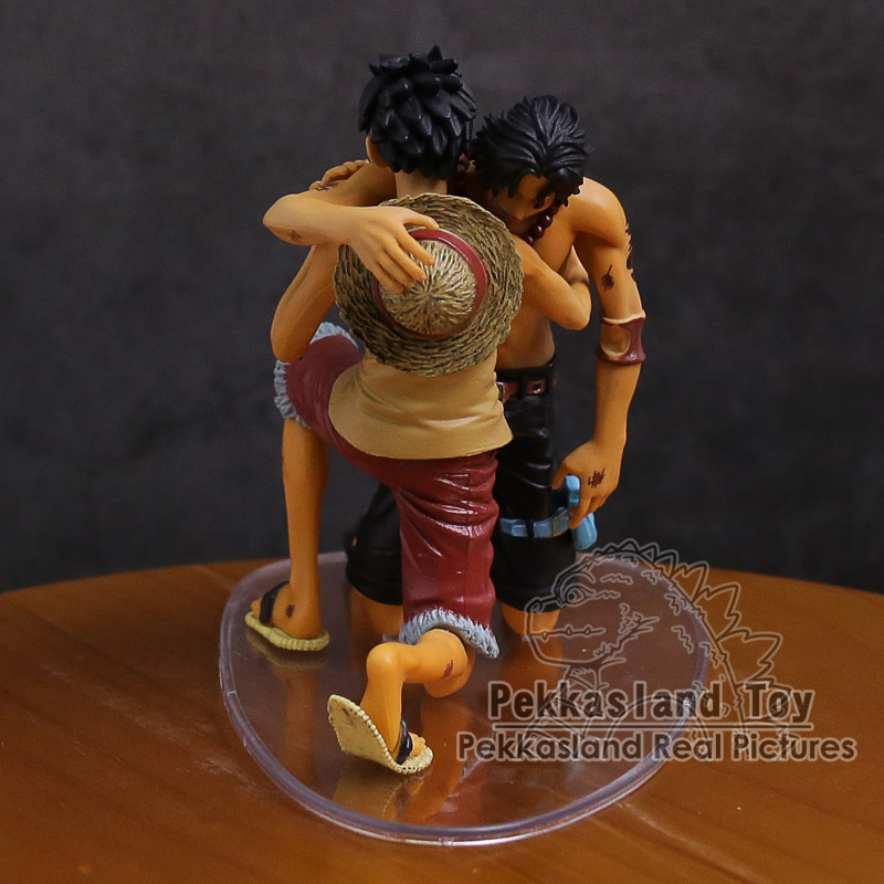 Image 3 - Anime One Piece DRAMATIC SHOWCASE Luffy Ace 5th Season vol.1 PVC Action Figure Collectible Model ToyAction & Toy Figures   -