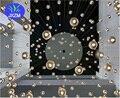 Led bola de vidro de cristal pingente de luz ac110v 220 v lâmpada g4 100mm de diâmetro Restaurante bar escada droplight cafés com 2 metro cabo