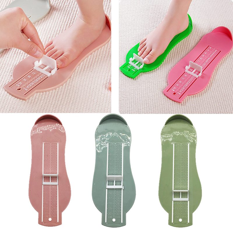 Baby Kid Shoes Size Measuring Ruler Tool Child  Infant Foot Measure Gauge Shoe Toddler Infant Shoes Fittings Gauge Foot Measure