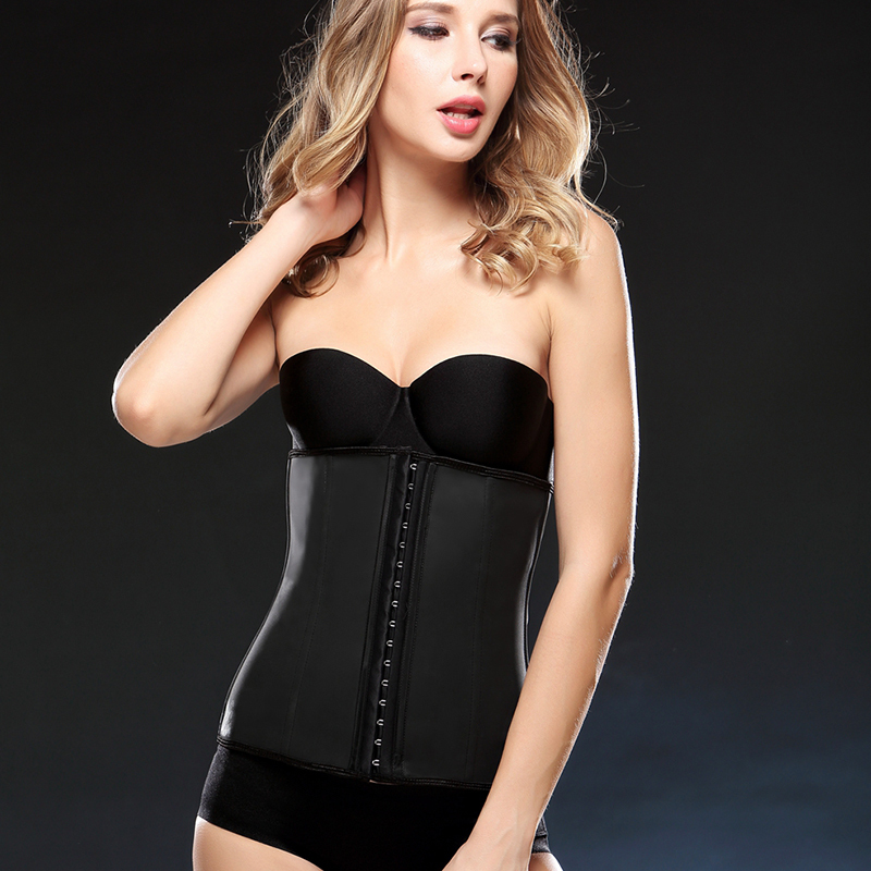 24531137056fbd Plus size slim shape women's waist cincher for latex waist corsets trainers  corsetto candy color ladies slimming belt-in Bustiers & Corsets from  Underwear ...