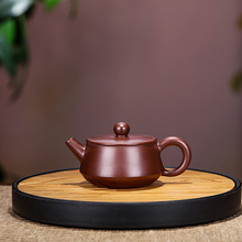 100mL Yixing Zisha teapot Genuine pure handmade ore purple clay teapot Chinese Kung Fu tea set Puer tea pot kettle 100ml yixing zisha pot famous hand made purple clay teapot puer tea boiling water teapot chinese kungfu travel tea set