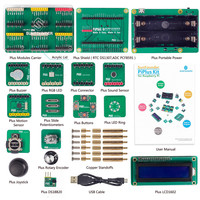 SunFounder PiPlus Electronics Building Block Sensor STEM Starter Kit For Raspberry Pi Model B 2 Model