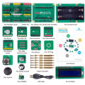 SunFounder PiPlus Electronics Building Block Sensor STEM Starter Kit for Raspberry Pi Model B+/2 Model B/3 Model B