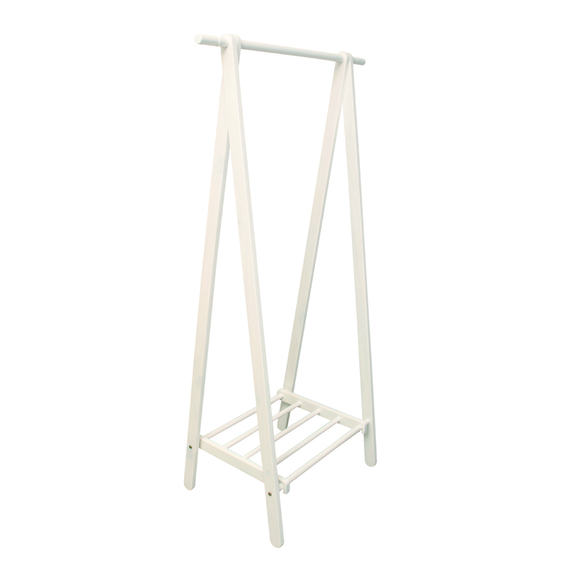 Special Home Single Product Coat Rack IKEA IKEA Style Scandinavian Adorable White Wooden Coat Rack