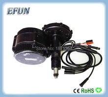 Free shipping 48V 750W 8fun/bafang motor C961/C965 LCD BBS02 mid drive motor kits with BB 100mm/110mm/120mm bottom bracket