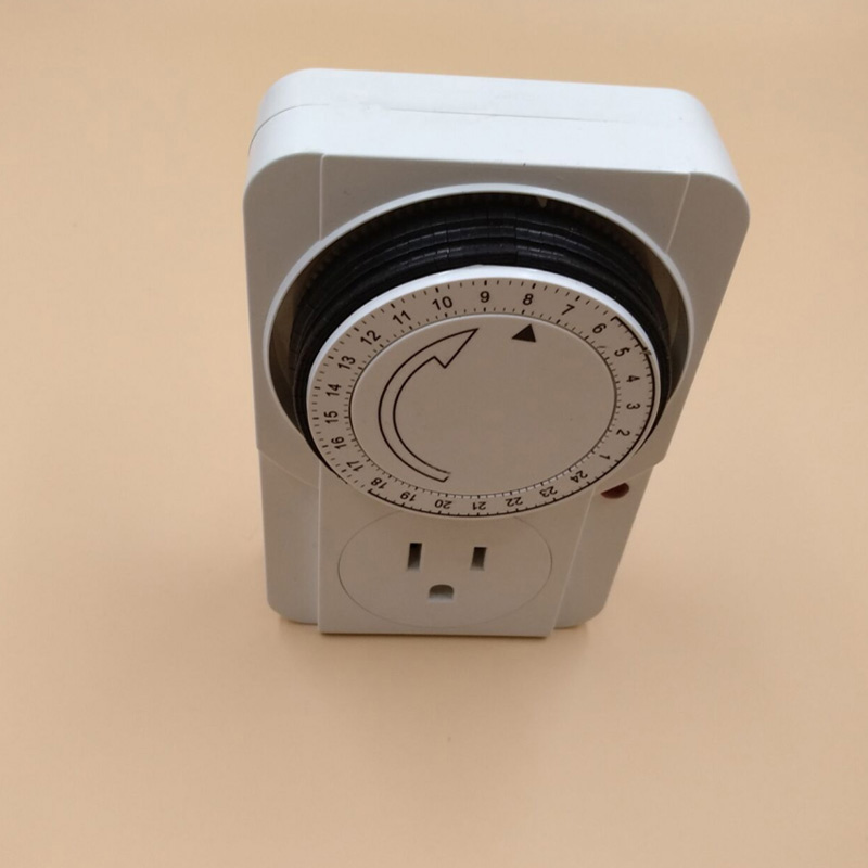 125v 15a Socket With Timer Us Etl Approved Energy Saver Electric Plug Outlet Kitchen Smart Mechanical Plug 24 Hours Timer Switch