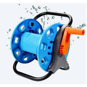 Hose Reel Portable Garden Water Hose Storage for Maximum 82 ft Hose Garage Car Washing Hose Holder