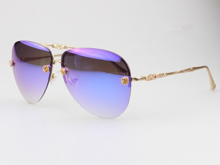 Oculos Marca Donne Del c67 C126 Colorata Moda c48 Più Nuovo Di Occhiali Delle Gambe c52 Metallo Affusolate Da a52 Sole a48 Modo a67 De Sol a126 Specchio Progettista tRt0qT