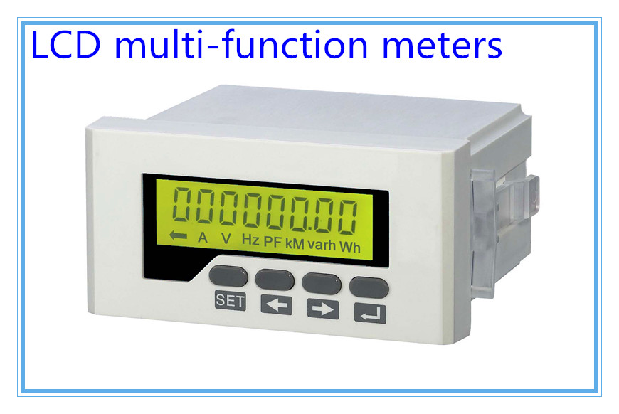 digital Combined Meters Single phase Multifunctional Meters,2 switch input 2 swicth output rs-485LCD RH-D series multimeter