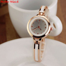 Chic Women's Girls Relojes Luxury Analog Display Quartz Relogio Gold Silver Wrist Watch