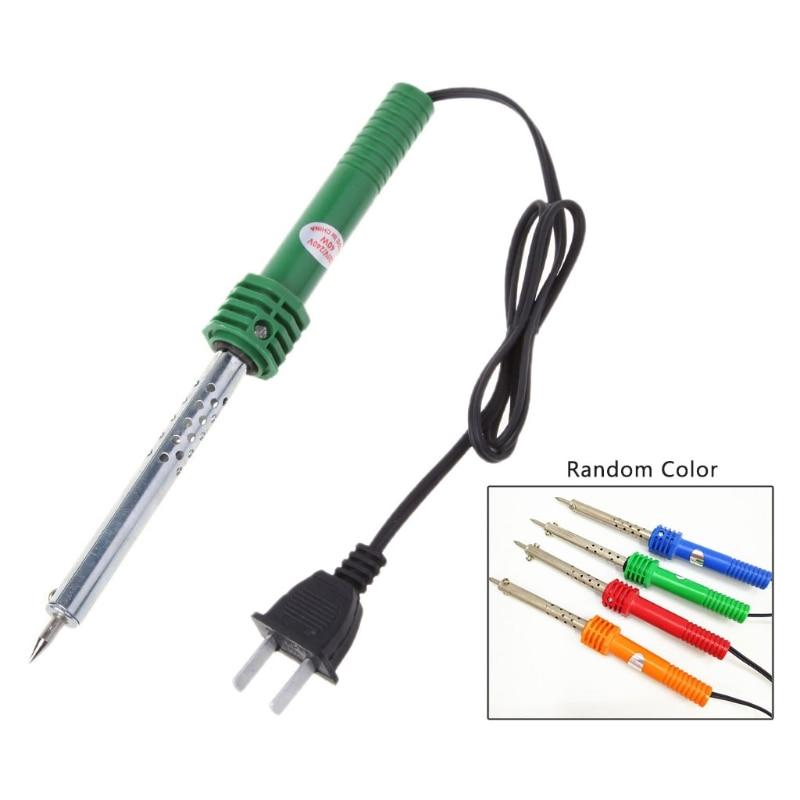 US Plug AC 220V-240V 30W Electric Pencil Welding Tip Soldering Iron Welding Pencil Pen External Heated Tool