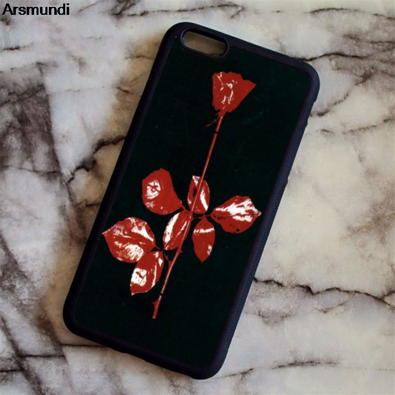 Arsmundi Depeche Mode Violator Phone Cases for iPhone 4S 5C 5S 6 6S 7 8 Plus X for Samsung S8 Note Case Soft TPU Rubber Silicone
